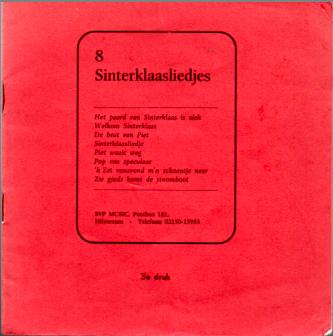 8 Sinterklaasliedjes