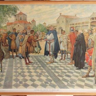 Karel de Grote te Aken 808