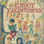 Groot vakantieboek Margriet 1962 kinderen spelen rondom boom 10 (gereserveerd)