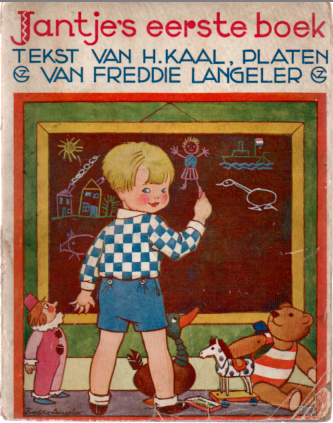 Jantje's eerste boek