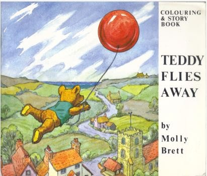 Teddy Flies Away (verkocht)