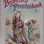 Bijbelsch Prentenboek Deel 1 (22.5 x 27.5 cm.) + Deel 2 (23.3 x 28.8 cm.)