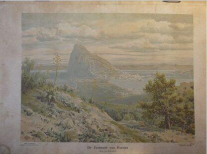 De Zuidpunt van Europa  (Rots van Gibraltar)