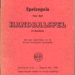 Spelregels van het Handbalspel