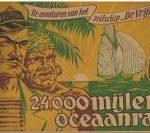"""De avonturen van het zeilschip """"De Vrijheid"""" 24.000 mijlen oceaanrace"""