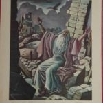 """Bellarminus-bijbelplaten nr.27""""Jeremias"""""""