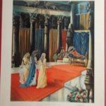 """Bellarminus-bijbelplaten nr. 30    """"Esther"""" (verkocht)"""