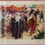 """Bellarminus-bijbelplaten nr.57 """"Bekering Etiopiër"""""""