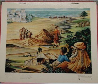"""Bellarminus-bijbelplaten nr.13 """"Jozef en de Broers"""""""