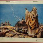 "Bellarminus-bijbelplaten nr.24 ""Elias Karmel"""