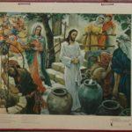 """Bellarminus-bijbelplaten nr. 38  """"Wijnwonder te Cana"""""""
