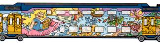 Boekenlegger: Zeemeermin